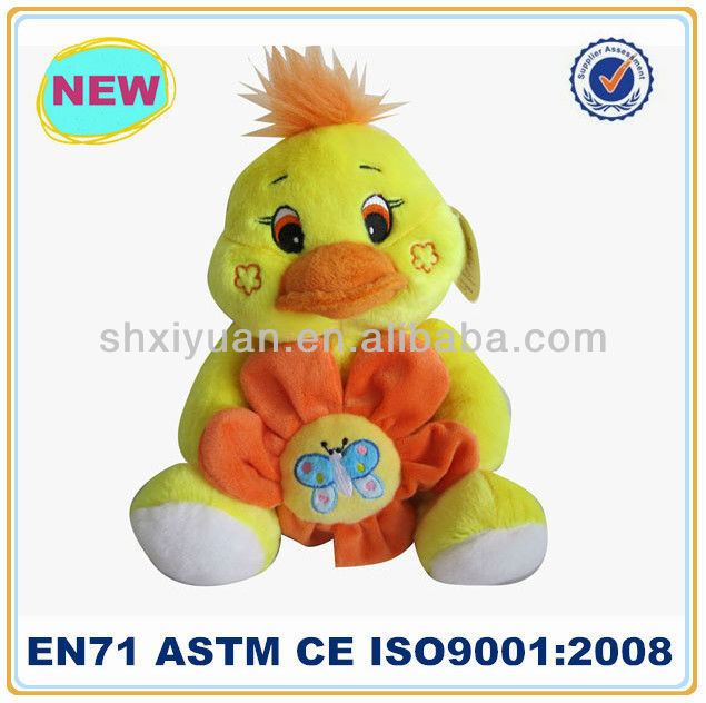 Lovely plush yellow duck