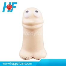 2015 Best-selling Organ Body Toys Penis Shaped Stress Ball For Promotion