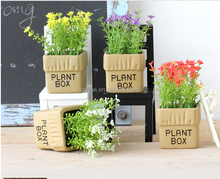 concrete plastic flower pot moulds