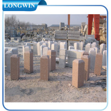 good quality granite driveway pillar