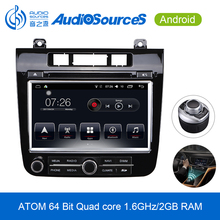 hot sale 2 din stereo android car dvd radio with GPS for vw touareg 2015