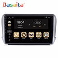 DASAITA 10.2 inch Android 8.0 car multimedia auto radio GPS Navigation system player for Peugeot 208 2008 with 4+32GB,PX5