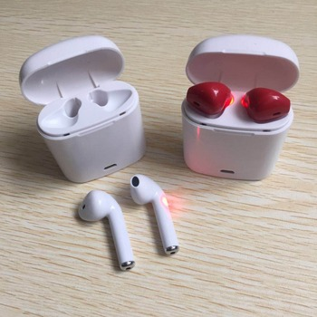 Factory wholesale wireless headset earphone HBQ I7 TWS with charge case