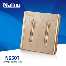 2 gang 2 way waterproof light switch