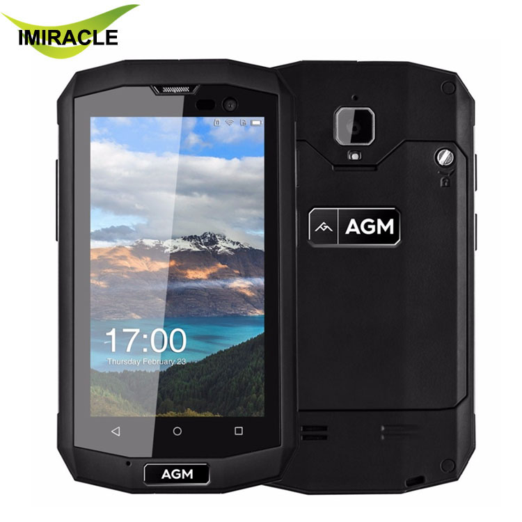 Hot Sale 2017 AGM A8 Mini 2GB RAM 16GB ROM Waterproof Shockproof 4.0inch Android 5.1 Cell Phone