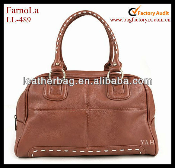 Fashion deisgn Women tote bags shoulder bags leather duffle bag