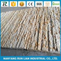 Hot selling 3d stack wall panels exterior wood wall panels simulate stone siding made in China