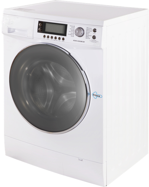 6-8kg Front Loading Clothes Laundry Washing Machine With LCD Shows