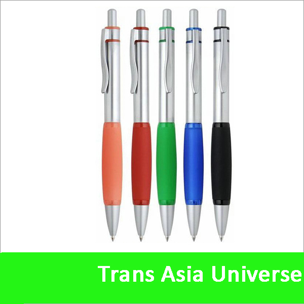 hot sale custom plastic ball point pen with cap