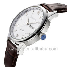 alibaba TOP ten fashion jewelry hot selling Simple ,elegent wrist watch with PU strap and Zinc alloy case