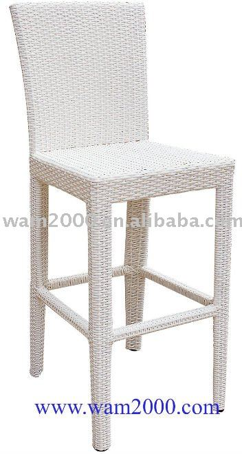 patio garden rattan leisure bar table and bar stool furniture set