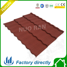 Newly stone coated matel roofing sheets/roofing materials/red roofing tile building material