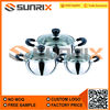 Various Shaped Stainless Steel Steaming Pots
