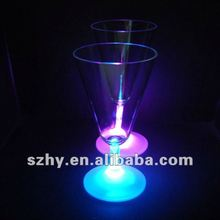 LED Flashing champagne cups