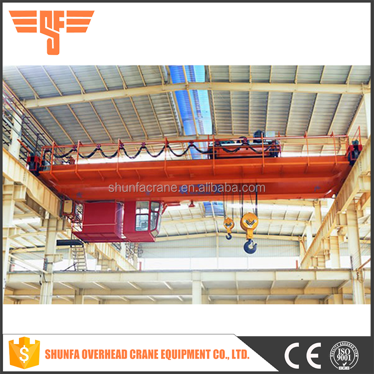Commonly hoisting weight is 5~50 tonnes overhead bridge cranes price