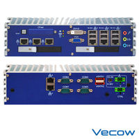 Fanless Embedded Quad-Core System with 8 GbE and Intel QM67 Express Chipset