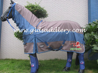 First class 1680D waterproof turnout horse blanket