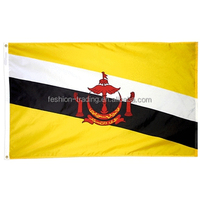 Fast delivery Brunei country Flag for world cup with top quality