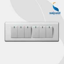 SAIP/SAIPWELL Home Application Multi Function 10A Powerpoint Wall Switch