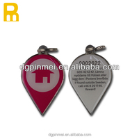 laser engraving unique barcode key fobs / key chins