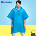 Reusable type cute rain poncho suit for women