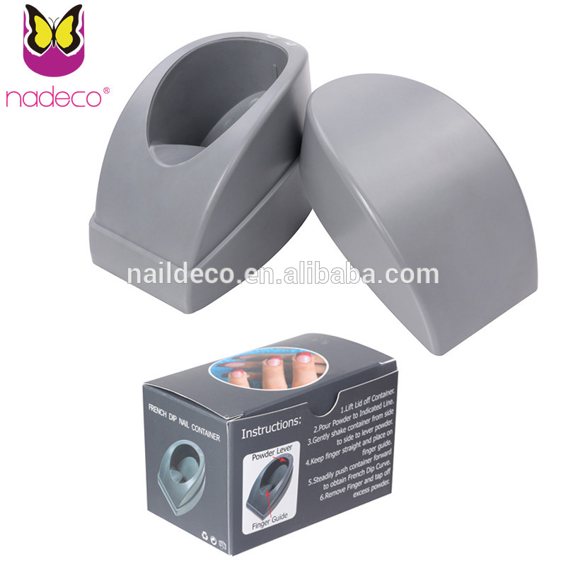 Nail Acrylic Powder Container French Dip Nail Container