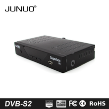 Set top box Suppliers JUNUO fta software upgrade digital satellite tv receiver