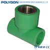 Unique Polygon Double Union Ball Valve (Steel Core) Ppr Pipe And Fitting