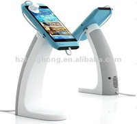 Mobile phone anti theft stand with alarm and charge function-H8400