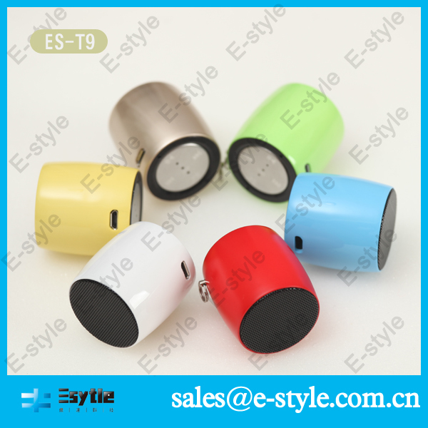 2014 new hot sell speaker mp3 with hand free key ES-T9