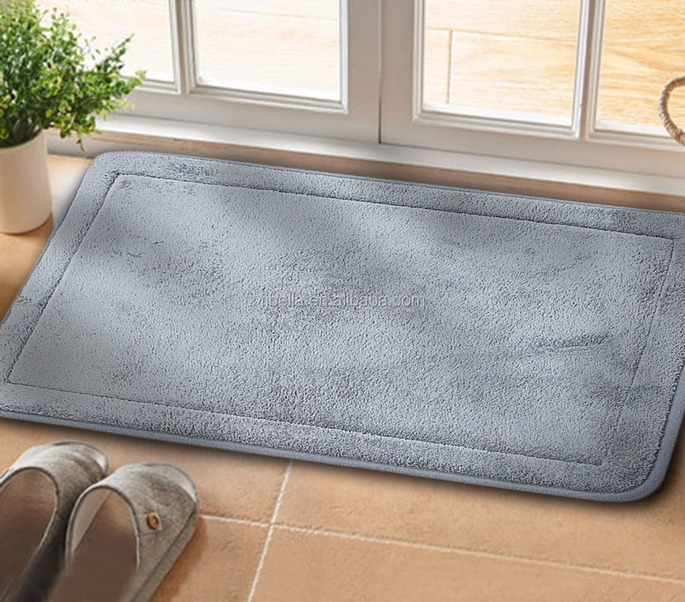 Comfortable Kitchen Carpet Non-Slip Luxurious Soft Memory Foam Floor Mat Bath Rug Mat