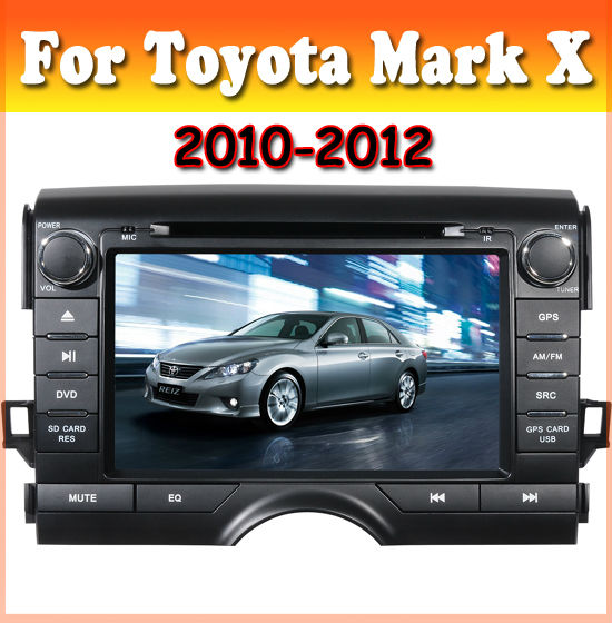TOYOTA Mark X Car DVD player With 8 Inch HD Digital Touch Screen, GPS, IPOD, radio
