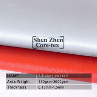 fireproof silicone coated 3732 fiberglass cloth fire blanket