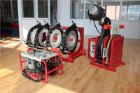 SHBD450 pressure pipe butt welding machine for water supply