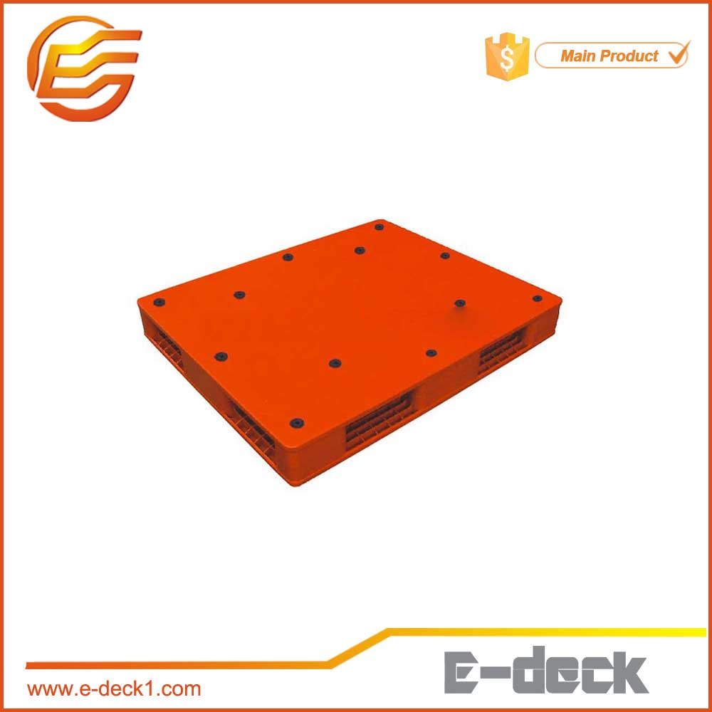 HDPE rack arious style double face High /// plastic pallet design in China