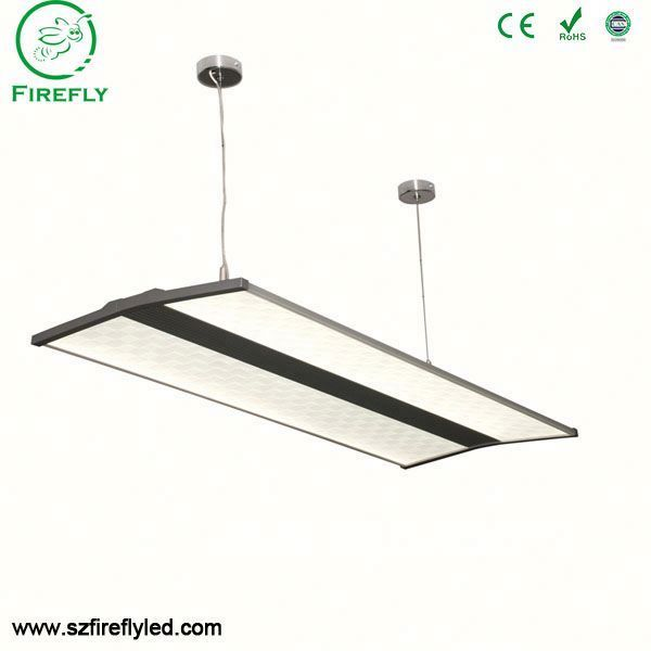 Edge emitting ceiling recessed 600*600mm led hanging linear light with standard package