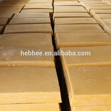 Natural refined yellow beeswax in high quality