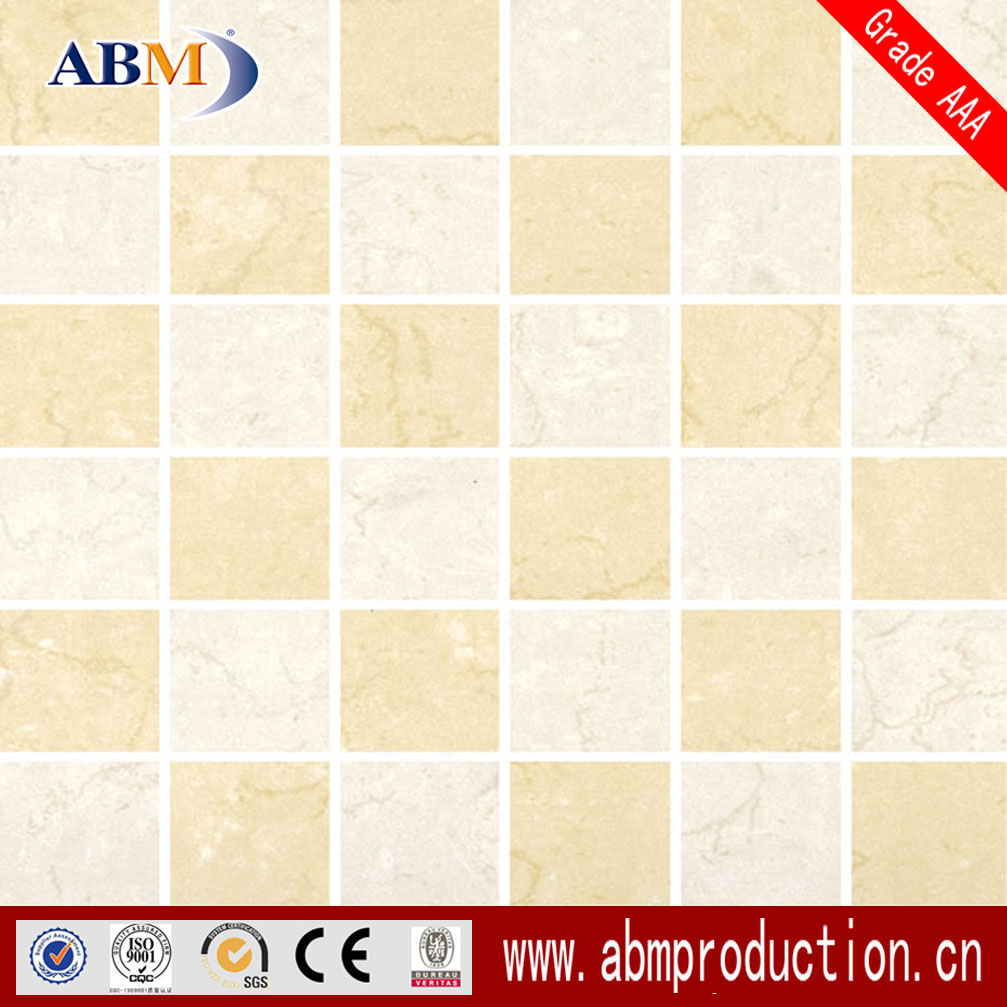 Foshan hot sale building material 300x300mm bright color mosaic tile, ABM brand, good quality, cheap price