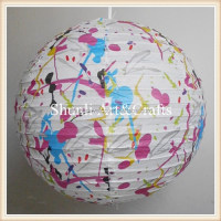 Fashion Paper Lamp In Home Amp
