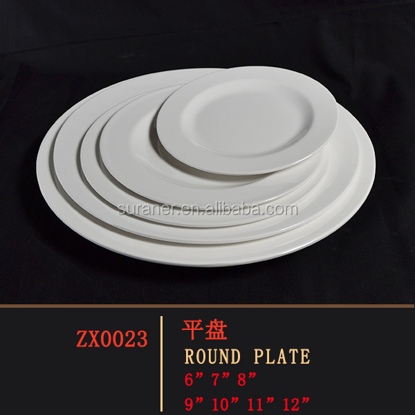 Weight Loss Dinner Plate Healthy Food White Meal Diet Portion Melamine Kitchen