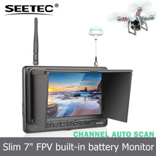 "7"" Ground Station High Definition drone Monitor with hdmi input for dji phanton 3 FPV718"
