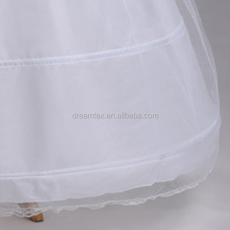 Wholesale large 4  hoop under skirt support   bride wedding dress ball gown  petticoat