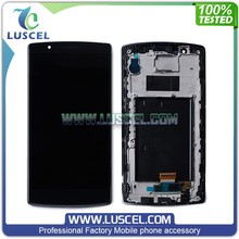 LC Wholesale price screen for LG G4 dual / H818 LCD touch screen with frame assembly