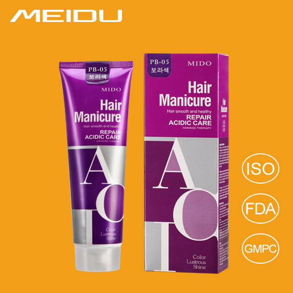 Aluminum No Ammonia No Peroxide Permanent Hair Color