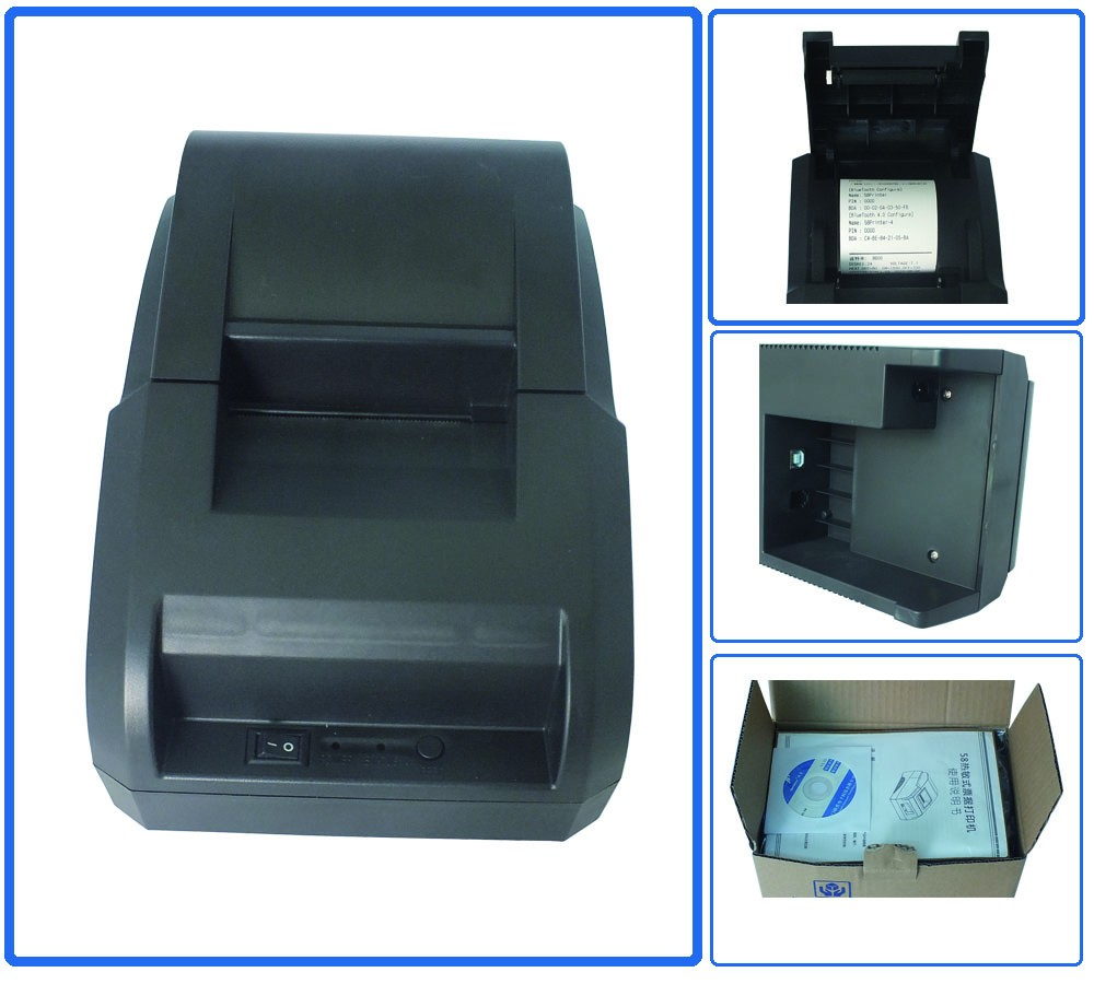 Cheap 58mm thermal receipt printer bluetooth mini printer JP