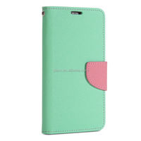 2016 New products Stand Leather Cover back case with card slots For LG K3 boost