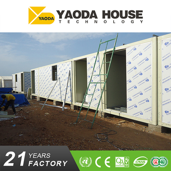 Fashionable cheap container house for living
