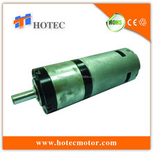 high precision planetary gearhead 45mm diameter heavy duty high torque reversible 12v planet gear motor