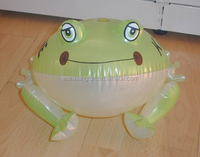 2015 cheap price inflatable custom frog for kids