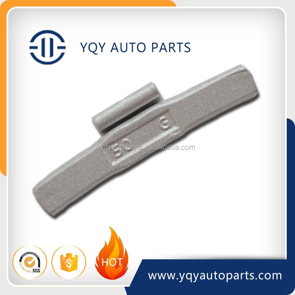 Fe/iron Clip On Wheel Balance Weight For Steel Rims With Spray Coating